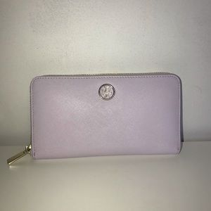 Tory Burch Lilac Continental Wallet